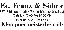 Kategorie https://www.blitzpixel.com/autoaufkleber/Firmenanschrift/0.htm